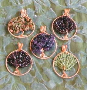 Copper Tree of Life Pendants